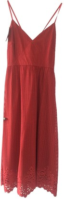 Tommy Hilfiger Red Lace Dress for Women