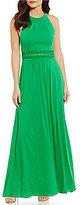 Antonio Melani Jenice Sleeveless Solid Crepe Maxi Dress
