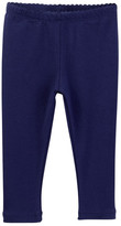Tea Collection Skinny Solid Legging (Baby Girls)