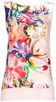 Wallis Ivory Floral Double Layer Top