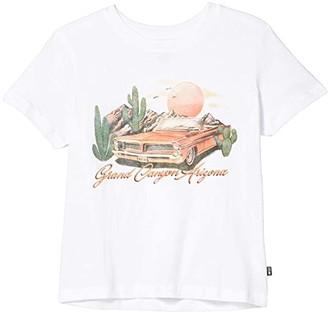 Cotton On Free Primrose Classic T-Shirt (Big Kids) (White/Grand Canyon) Girl's Clothing