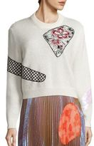 Christopher Kane Mohair Wool Pullover