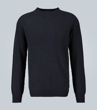 Sunspel Crew neck lambswool sweater