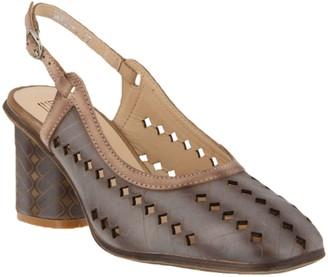 Spring Step L'Artiste by Leather Slingback Sandals - Flirt