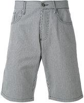 MAISON KITSUNÉ striped shorts - men - Cotton - 30
