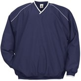 Badger BD7601 Razor Adult Piped Windshirt - Navy & White, XL