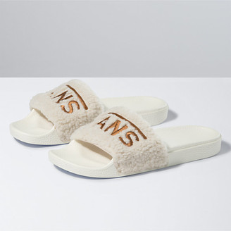 Vans Womens Sherpa Slide-On