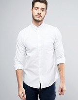 Jack Wills Wadsworth Regular Fit Oxford Shirt in White