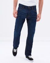 Quiksilver Mens The Avalon Relaxed Fit Denim Jean