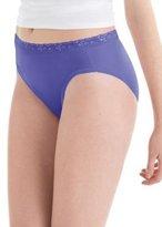 Red Label Hanes Women's Nylon Hi-Cut Panties 6-Pack