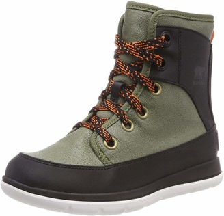 Sorel Women's Boots Explorer 1964 Green (Hiker Green)/Black Size UK: 3