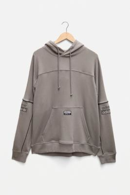 adidas FS Light Grey Men's Hoodie - Grey S at Urban Outfitters