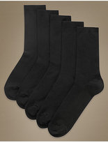 M&S Collection 5 Pair Pack Supersoft Socks
