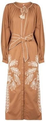 Johanna Ortiz Real Expedition cotton-blend maxi dress