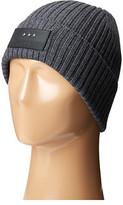 John Varvatos 2x2 Rib Knit Hat with Cuff