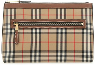 Burberry Vintage Check Zip Pouch