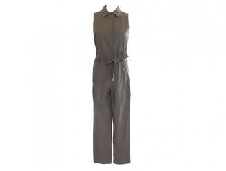 Saint Laurent Brown Cotton Jumpsuit for Women