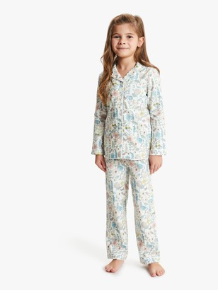 John Lewis & Partners Girls' Vintage Floral Print Pyjamas, Multi
