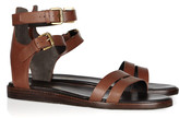 Pour La Victoire Edilia leather sandals