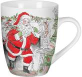 Fitz & Floyd Set of 2 Vintage Holiday Mugs