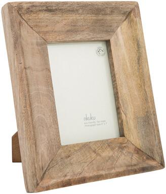 """Nkuku Habibi Mango Wood Photo Frame - 5x7"""""""