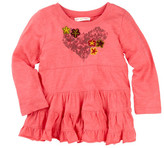 Mimi & Maggie Forest Heart Top (Baby, Toddler, & Little Girls)