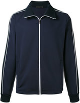 Prada contrast piping sport jacket