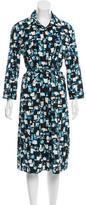 Samantha Sung Printed Midi Dress w/ Tags