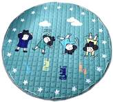 Kylin Express Colorful Baby Crawling Mat Carpet Children Bedroom Carpet Living Room Rugs Sporty girl