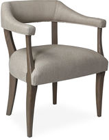 One Kings Lane Molly Linen Chair, Driftwood