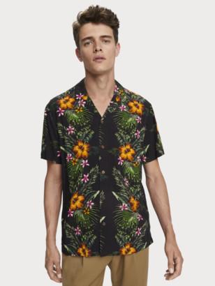 Scotch & Soda Tropical Print Shirt Hawaii fit | Men