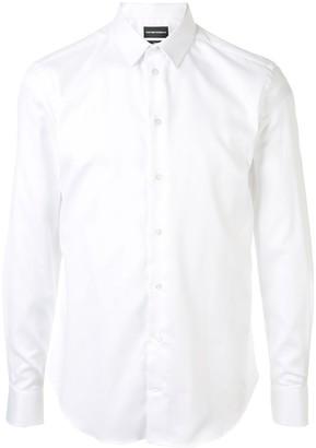 Emporio Armani Plain Tailored Shirt