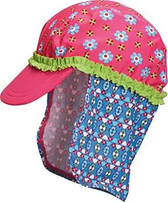 Playshoes Girl's UV-Schutz Mütze Blumen Cap,(Size:51cm)