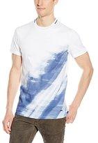 Calvin Klein Men's Premium Mercerized Blur Print Tee