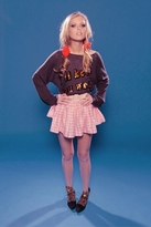 Wildfox Couture I'll Keep You Warm Penny Lane Sweater in Dirty Black