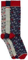 Ted Baker Valentine Heart Socks - Pack of 3