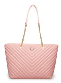 Betsey Johnson Pretty In Pastels Quilted Tote