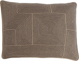 Armand Diradourian Geometric-Embroidered Pillow