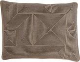 Armand Diradourian Geometric-Embroidered Pillow