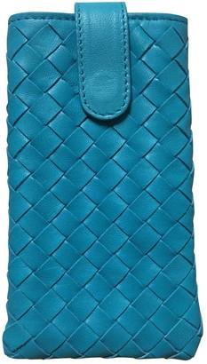 Bottega Veneta Turquoise Leather Accessories