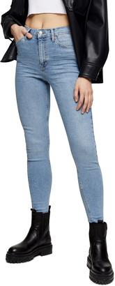 Topshop Mykonos Jamie High Waist Skinny Jeans