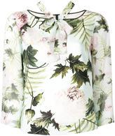 Antonio Marras flowers print blouse