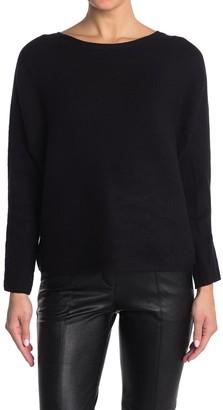 T Tahari Solid Dolman Sleeve Pullover (Petite)