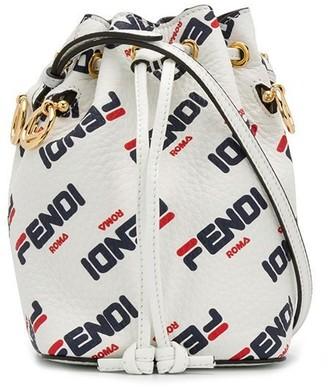 Fendi mini FendiMania Mon Tresor bucket bag