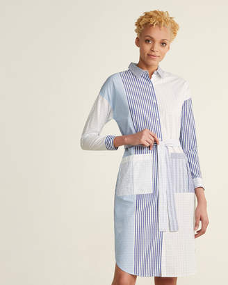 Le Mont St Michel Checked Shirtdress