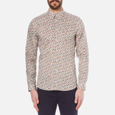 Paul Smith Men's Long Sleeve Tailored Fit Shirt Multi