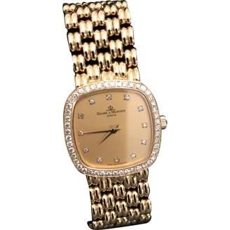 Vintage Baume Et Mercier Gold Yellow gold Watches