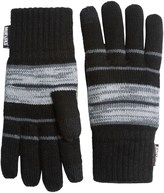 Muk Luks Striped Texting Gloves - Touchscreen Compatible (For Men)