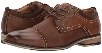 Steve Madden Jakub (Dark Tan) Men's Lace up casual Shoes