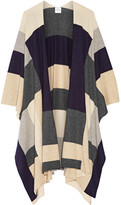Madeleine Thompson Color-block Cashmere Wrap - Gray